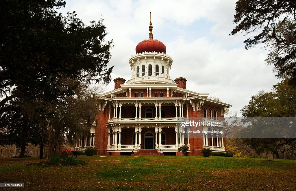 Mississippi Natchez Longwood an architectural wonder grandest octagonal house in US never completed ca1861