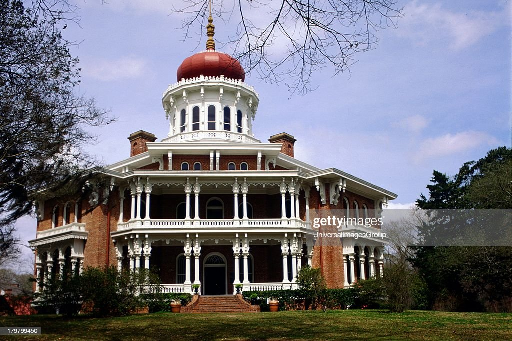 Mississippi Natchez Longwood an architectural wonder grandest octagonal house in US never completed 1861