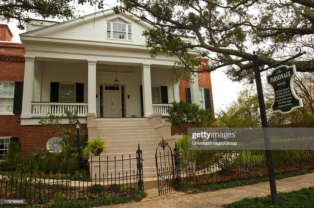 Mississippi Natchez The Parsonage land on which built donated to Methodist Church by Peter Little owner of Rosalie because of his wife Elizas...
