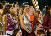 Mississippi State Bulldogs fan looks on from the stands during the Capital One Orange Bowl game against the Georgia Tech Yellow Jackets at Sun Life...