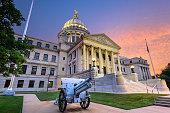 Mississippi State Capitol in Jackson, Mississippi, USA.