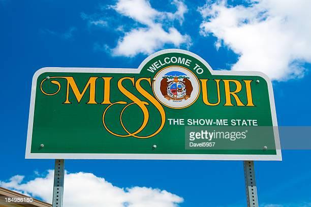 Missouri Welcome-Schild