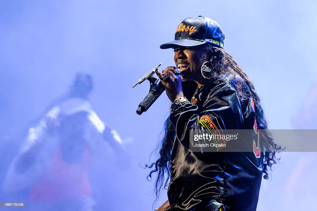 Missy Elliot performs on day 4 of Bestival at Robin Hill Country Park on September 13 2015 in Newport Isle of Wight