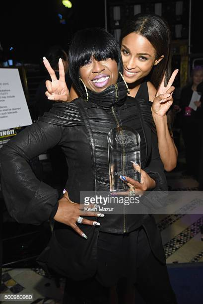 Missy Elliott and Ciara attend Billboard Women In Music 2015 on Lifetime at Cipriani 42nd Street on December 11 2015 in New York City