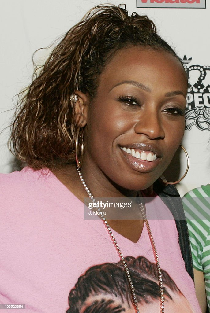 Missy Elliott during Billboard Magazine and A Diamond is Forever Host 'Millions in Diamonds on Ice' at Sagamore Hotel Pool in Miami, Florida, United States.