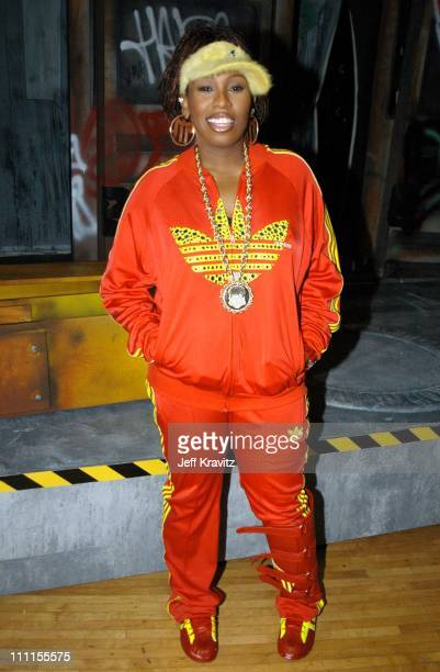 Missy Elliott during The 30th Annual American Music Awards Backstage Party at Shrine Auditorium in Los Angeles California United States