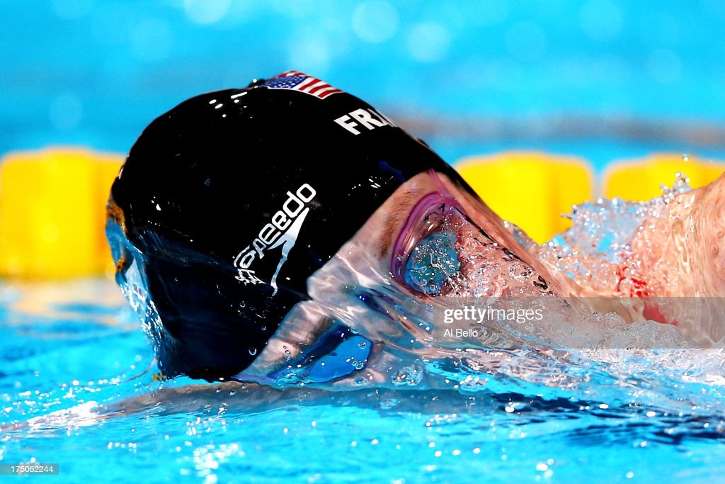 <a gi-track='captionPersonalityLinkClicked' href=/galleries/search?phrase=Missy+Franklin&family=editorial&specificpeople=6623958 ng-click='$event.stopPropagation()'>Missy Franklin</a> of the USA competes during the Swimming Women's 200m Freestyle Semifinal 2 on day eleven of the 15th FINA World Championships at Palau Sant Jordi on July 30, 2013 in Barcelona, Spain.
