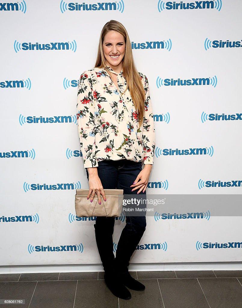 Missy Franklin visits at SiriusXM Studio on December 6, 2016 in New York City.