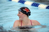 Missy Franklin will work out Thursday June 2012 at Lowry long course pool in Denver as she gets ready for the up coming London Olympics RJ Sangosti...