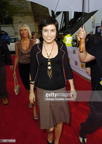Missy Higgins during 2005 MTV Australia Video Music Awards Red Carpet at Luna Park in Sydney New South Wales Australia