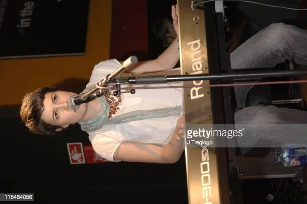 Missy Higgins during Missy Higgins InStore Performance and Album Signing at Virgin Megastore in London June 3 2005 at Virgin Megastore in London...