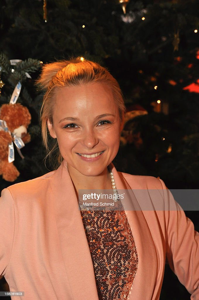 Missy May attends the Christmas ball for children Energy For Life - Heat For Children's Hearts at Hofburg Vienna on December 11, 2012 in Vienna, Austria.
