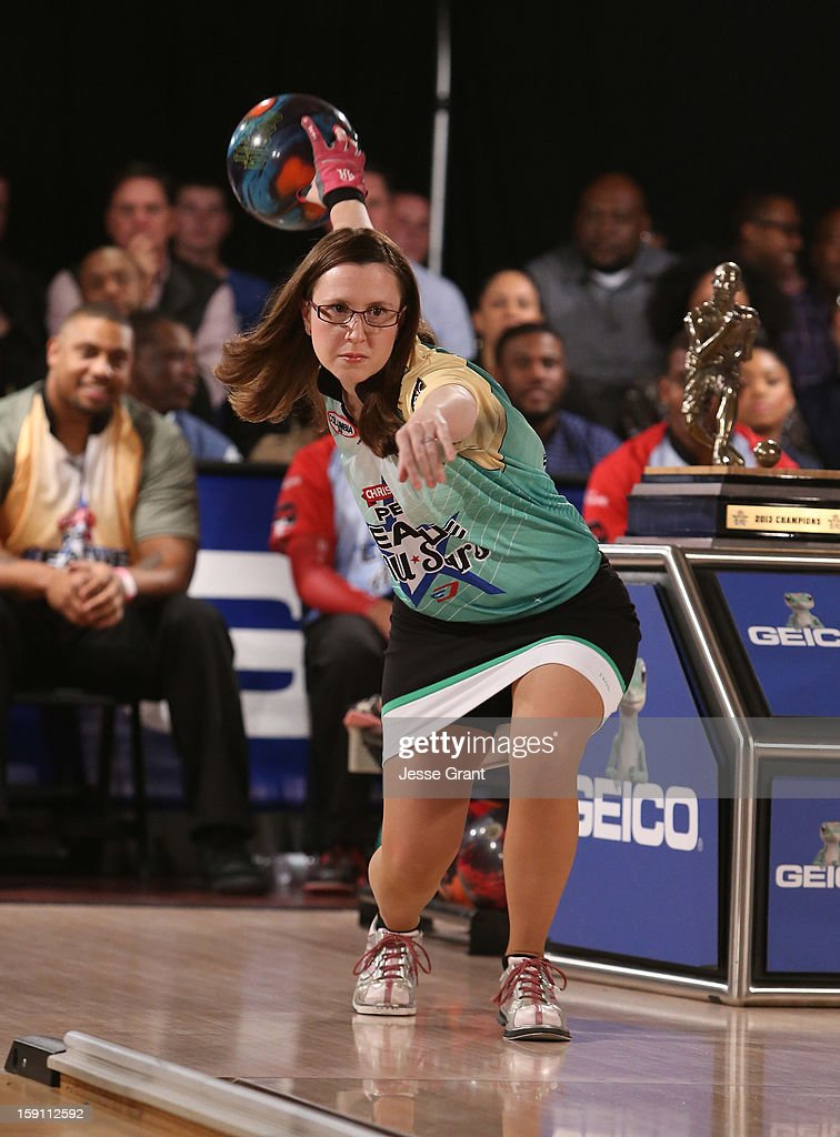 Missy Parkin attends the 2013 Chris Paul PBA League All-Stars Invitational Bowling Tournament at Lucky Strike Lanes at L.A. Live on January 7, 2013 in Los Angeles, California.