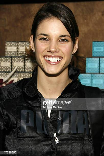 Missy Peregrym at Voluspa during Silver Spoon Golden Globes Hollywood Buffet Day 1 at Private Residence in Beverly Hills California United States...
