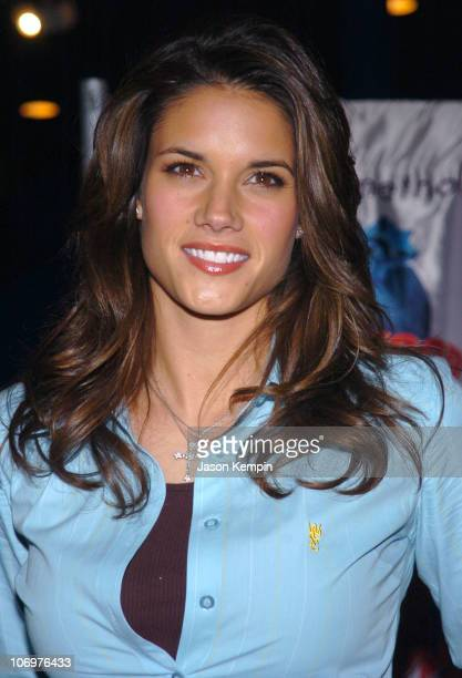 Missy Peregrym during 'Stick It' Stars Missy Peregrym and Vanessa Lengies Visit Planet Hollywood in New York City April 20 2006 at Planet Hollywood...