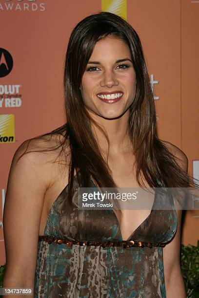 Missy Peregrym during Us Weekly Hot Hollywood Awards at Republic Restaurant and Lounge in West Hollywood CA United States