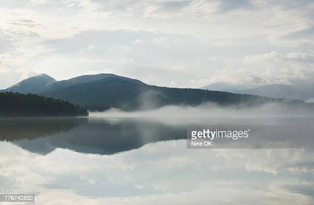 Mist on Lake Placid