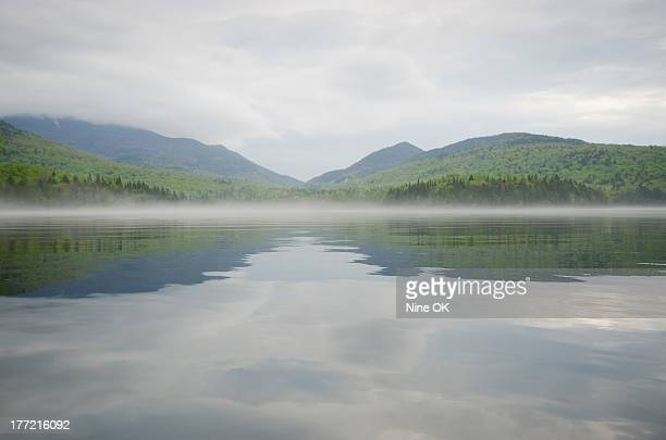 Mist on lake Placid