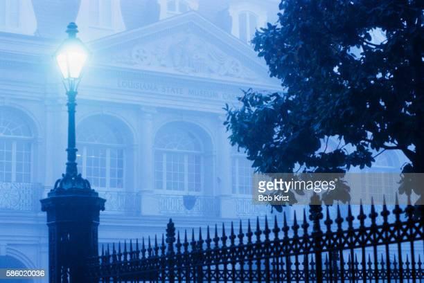 Mist Surrounding Cabildo Museum