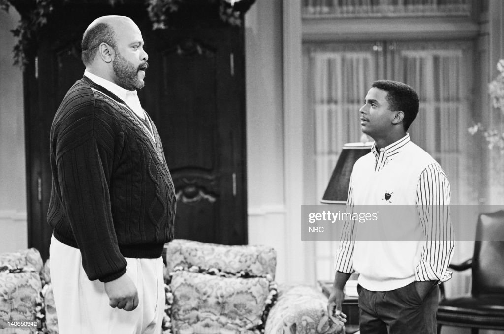 AIR -- 'Mistaken Idenity' Episode 6 -- Air Date -- Pictured: (l-r) James Avery as Philip Banks, Alfonso Ribeiro as Carlton Banks -- Photo by: Brian D. McLaughlin/NBCU Photo Bank