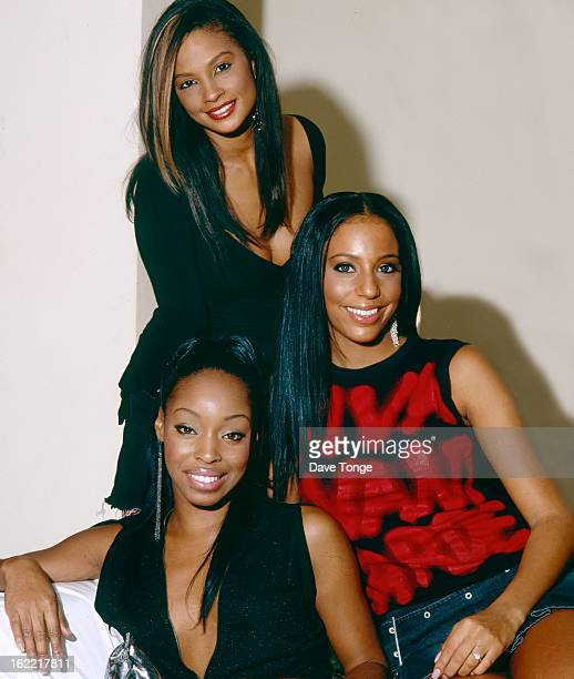 MisTeeq backstage at a TV show London circa 2004 Top to bottom Alesha Dixon SuElise Nash and Sabrina Washington