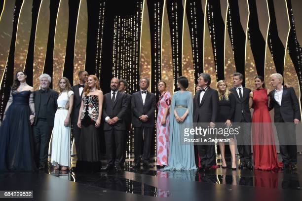 Mistress of Ceremonies Monica Bellucci President of the jury Pedro Almodovar model LilyRose Depp jury members Will Smith and Jessica Chastain...