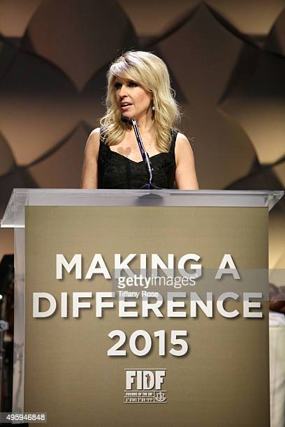 Mistress of Ceremonies Monica Crowley speaks onstage during Friends Of The Israel Defense Forces Western Region Gala at The Beverly Hilton Hotel on...