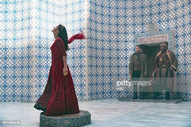 CITY 'MistressNewMistress' Episode 103 Pictured Adria Arjona as Dorothy Oliver Jackson Cohen as Lucas DeObia Operei as Sullivan