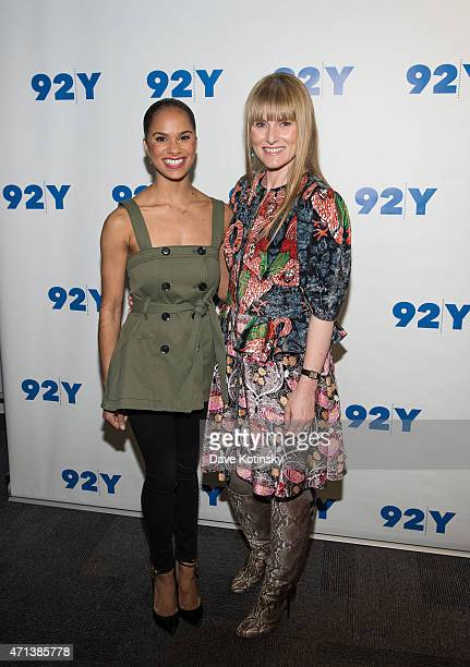Misty Copeland and Amy Astley arrive at the 92nd Street Y Presents In Conversation With Misty Copeland And Amy Astley at 92nd Street Y on April 27...