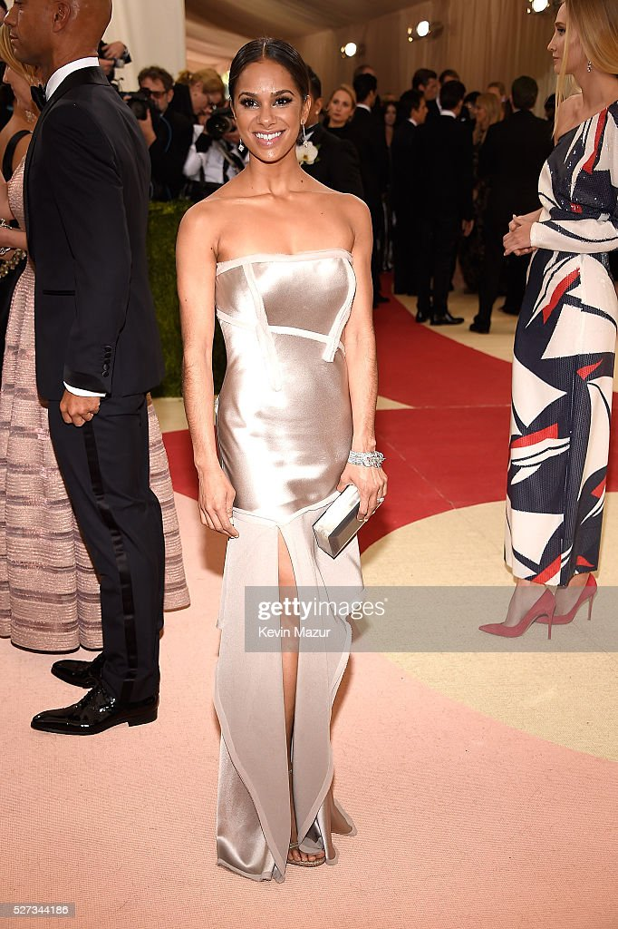 Misty Copeland attends 'Manus x Machina: Fashion In An Age Of Technology' Costume Institute Gala at Metropolitan Museum of Art on May 2, 2016 in New York City.