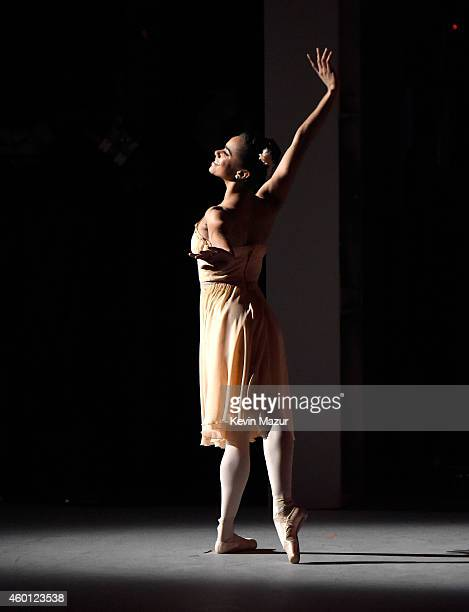 Misty Copeland performs onstage at the 37th Annual Kennedy Center Honors at The John F Kennedy Center for Performing Arts on December 7 2014 in...