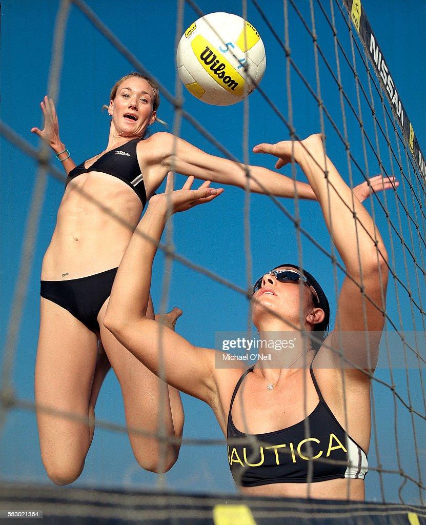 Misty May-Treanor and Kerri Walsh