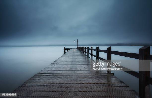 Misty Morning at The Jetty