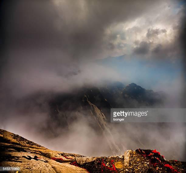 Misty Mount Hua, Shaanxi province, China