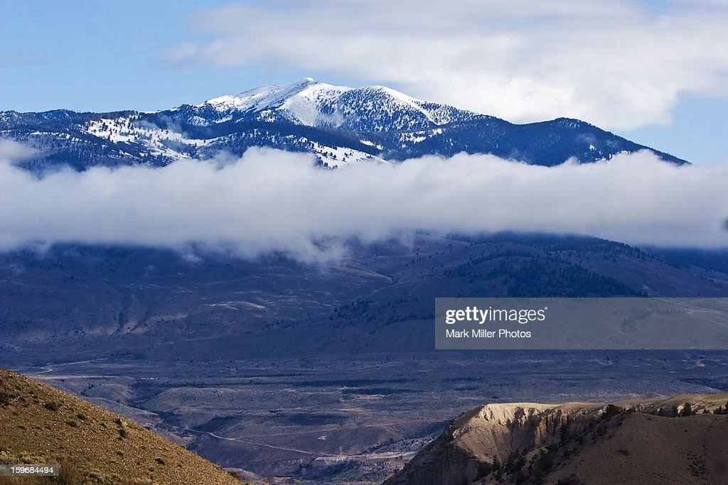 Misty Mountain : Stock Photo