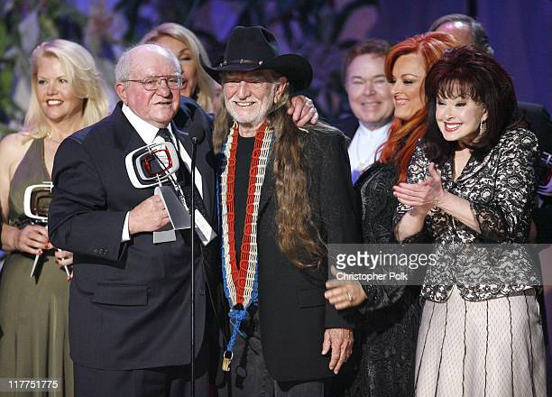 Misty Rowe Sam Lovullo Willie Nelson Wynonna Judd and Naomi Judd
