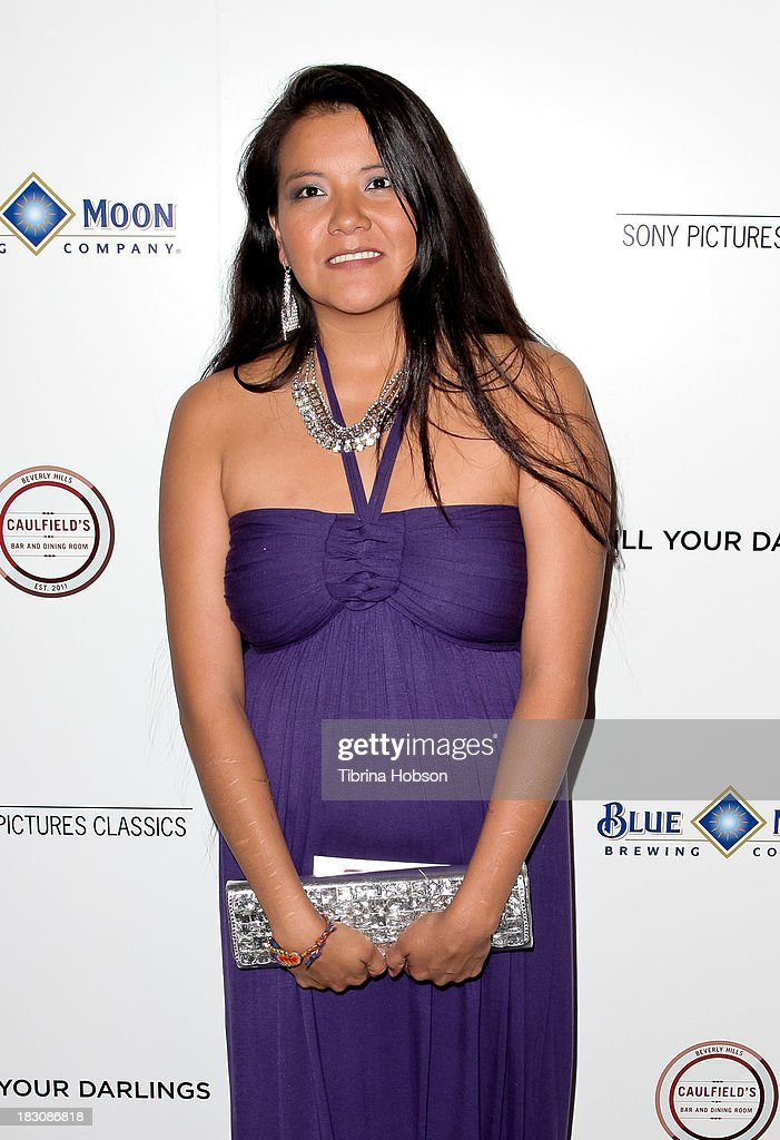 Misty Upham attends the 'Kill Your Darlings' Los Angeles premiere at Writers Guild Theater on October 3, 2013 in Beverly Hills, California.