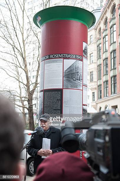 Mit einem stillen Gedenken sich anschliessendem Marsch zur Rosenstrasse Reden und Gesängen am Denkmal sowie einem Zeitzeugengespräch im angrenzenden...