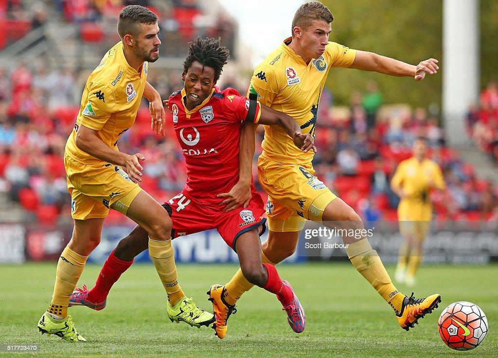 A-League Rd 25 - Adelaide v Central Coast