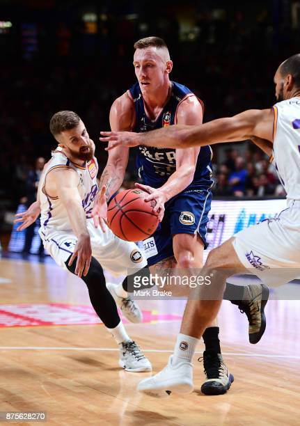 MItch Creek of the 36ers during the round seven NBL match between Adelaide 36ers and the Sydney Kings at Titanium Security Arena on November 18 2017...