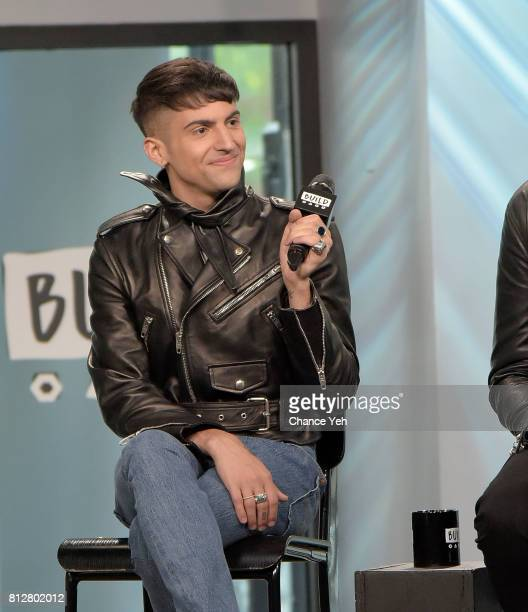 Mitch Grassi of Superfruit attends Build series to discuss their debut album 'Future Friends' at Build Studio on July 11 2017 in New York City