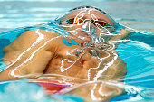 Mitch Larkin of Australia competes in his Mens 100 Metre Backstroke heat during the 2016 NSW State Open Championships at Sydney Olmpic Aquatic Centre...