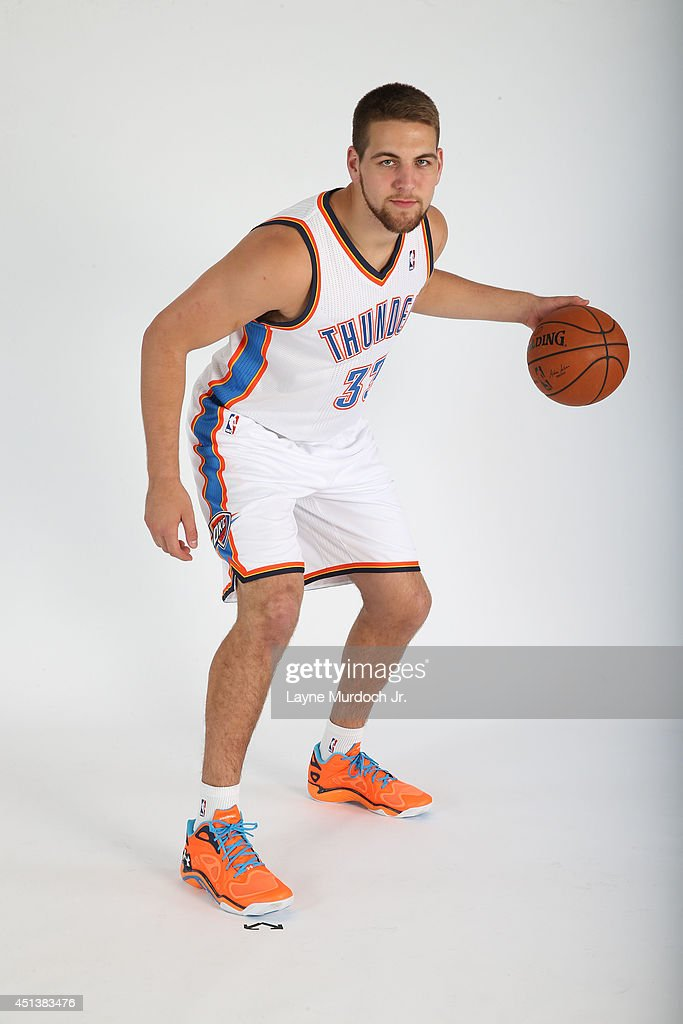<a gi-track='captionPersonalityLinkClicked' href=/galleries/search?phrase=Mitch+McGary&family=editorial&specificpeople=7887132 ng-click='$event.stopPropagation()'>Mitch McGary</a> an Oklahoma City Thunder draft pick poses for a portrait during a 2014 NBA shoot on June 27, 2014 at the Oklahoma History Center in Oklahoma City, Oklahoma.
