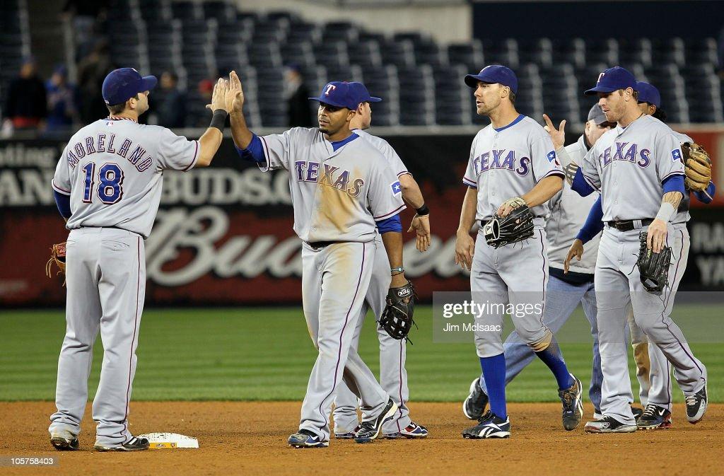 Texas Rangers v New York Yankees, Game 4