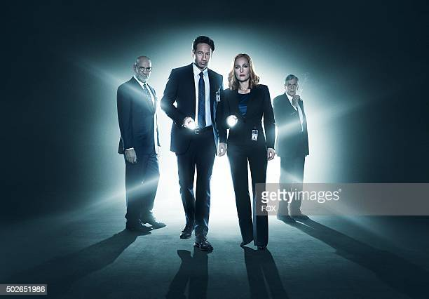 Mitch Pileggi David Duchovny Gillian Anderson and William B Davis The next mindbending chapter of THE XFILES debuts with a special twonight event...