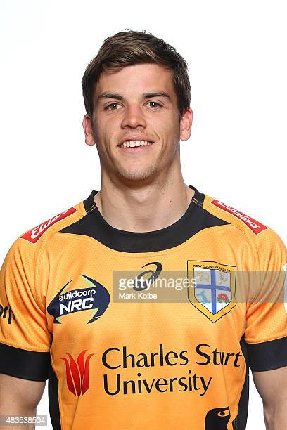 Mitch Short poses during the NSW Country Eagles Headshots Session at the NSW Rugby Union Offices on August 10 2015 in Sydney Australia
