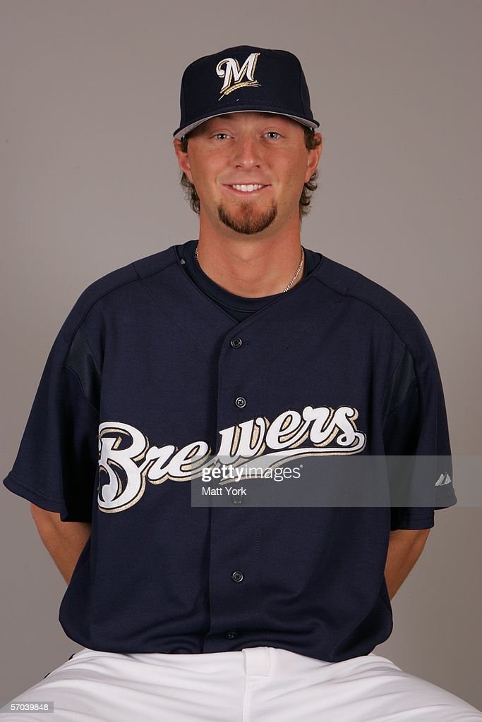 Mitch Stetter of the Milwaukee Brewers during photo day at Maryvale Stadium on February 27 2006 in Maryvale Arizona