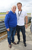 Mitch Winehouse and Paul Sculfor attend the Stride Foundation track day in aid of The Amy Winehouse Foundation at the Bedford Autodrome on August 1...