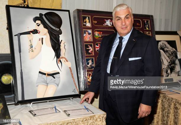 Mitch Winehouse attends the 2013 Amy Winehouse Foundation Inspiration Awards and Gala at The Waldorf=Astoria on March 21 2013 in New York City