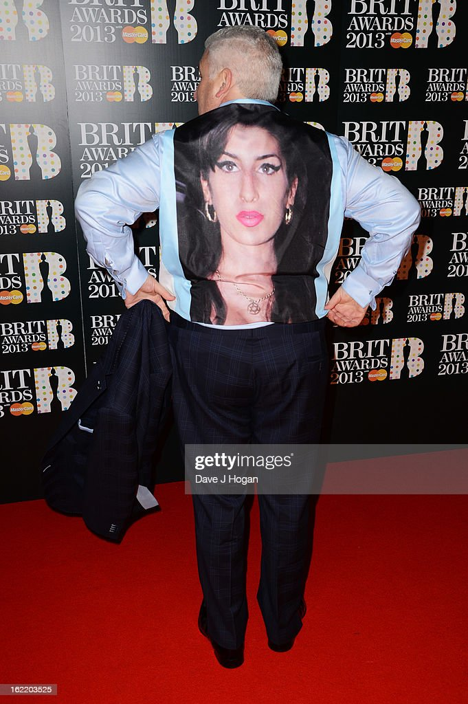 Mitch Winehouse attends The Brit Awards 2013 at The O2 Arena on February 20, 2013 in London, England.